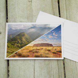 10er Postkartensetn - Südostasien und Australien