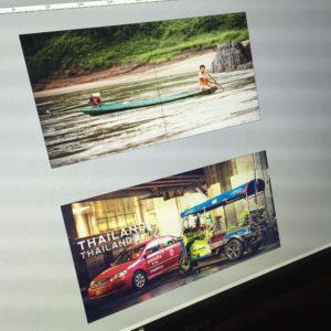 Bildband Südostasien - Layoutphase unseres Buches über unsere Südostasienreise